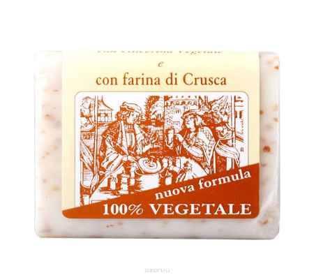 Купить Iteritalia Мыло натуральное глицериновое с отрубями, 150 г