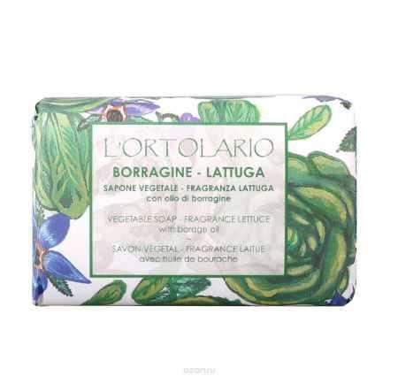 Купить Iteritalia Мыло натуральное с ароматом латука и маслом бурачника, 150 г