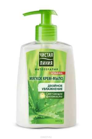 Купить Чистая Линия Фитотерапия Жидкое крем-мыло Двойное увлажнение 250 мл