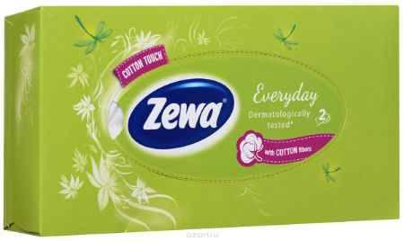 Купить Zewa Платки косметические в коробке