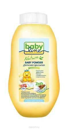 Купить BabyLine Nature Присыпка детская с оксидом цинка 125 г