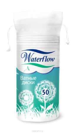 Купить Waterflow Ватные диски, 50 шт