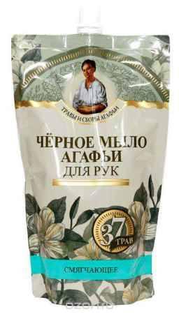 Купить Черное мыло Агафьи мыло черное для рук 500 мл. (дойпак)