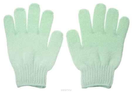 Купить Riffi Перчатки для пилинга, цвет: салатовый