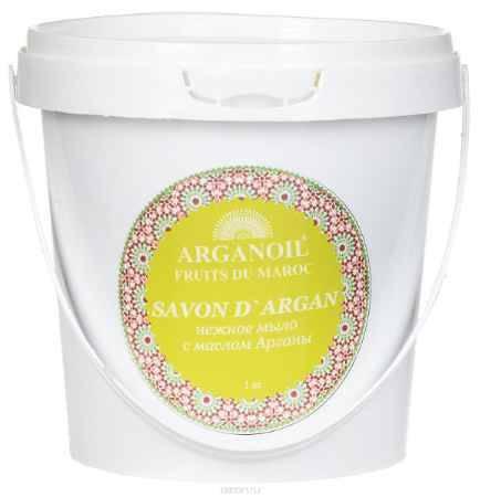 Купить Дом Арганы Черное мыло с маслом арганы, 1000 мл