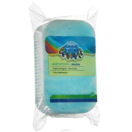 Купить Canpol Babies Губка для купания Marble цвет голубой