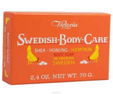 Купить Victoria Soap Shea-Honung-Hjortron Мыло для тела с морошкой, 70 г