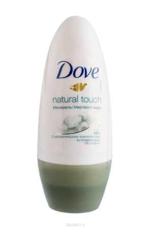 Купить Dove Антиперспирант ролл Прикосновение природы 50 мл