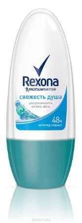 Купить Rexona Motionsense Антиперспирант ролл Свежесть душа 50 мл