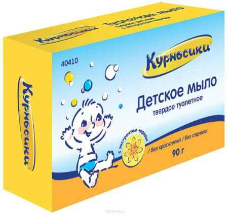 Купить Курносики Мыло Детское с экстрактом череды 90 г