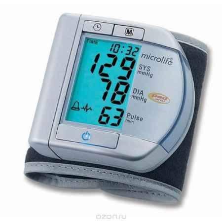 Купить Тонометр запястный с технологией определения аритмии пульса Microlife BP W100
