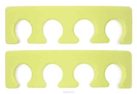 Купить OPI Разделитель для пальцев ног, 2 шт, цвет: желтый