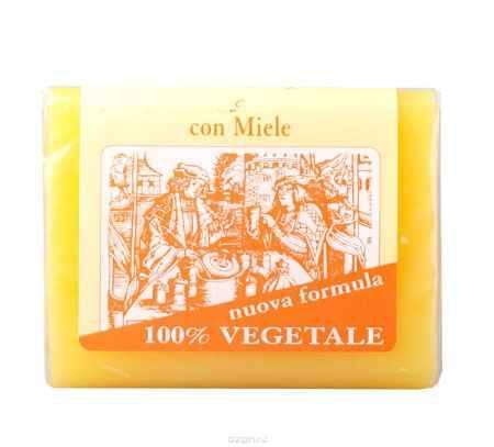 Купить Iteritalia Мыло натуральное глицериновое с медом, 150 г