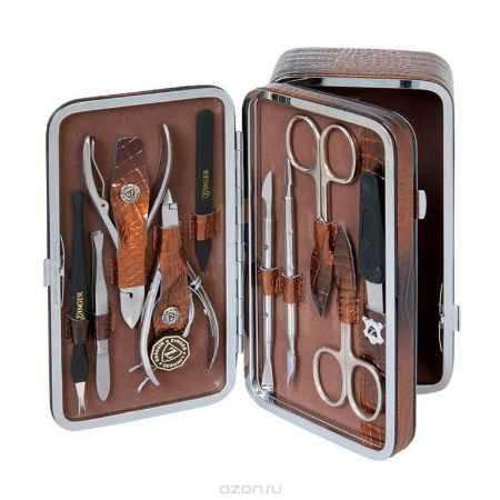 Купить Zinger Маникюрный набор + косметичка zMs 1201-804S