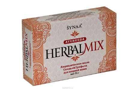 Купить Herbalmix мыло твердое Сандал и Трифала, 75 г