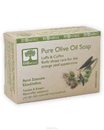 Купить BIOselect Натуральное мыло с оливковым маслом, экстрактами люффы и гуараны, 80 мл