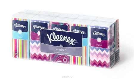 Купить Kleenex Носовые платочки