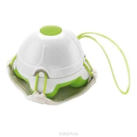 Купить Массажер-мочалка ручной Medisana HM 840, цвет: салатовый, белый