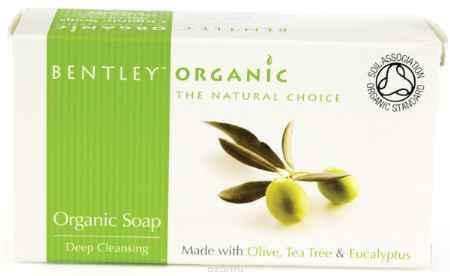 Купить Bentley Organic Мыло Глубокоочищающее с Оливой, Чайным Деревом и Эвкалиптом 150 г