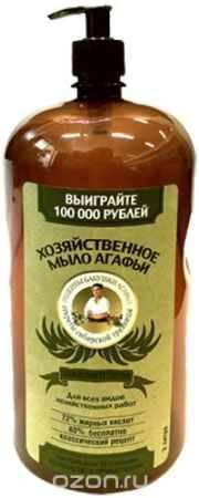 Купить Рецепты бабушки Агафьи мыло хозяйственное Агафьи эвкалиптовое 2 л