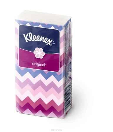 Купить Kleenex Платочки носовые белые Original 10 х 10 шт