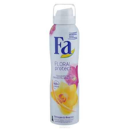 Купить FA Дезодорант-аэрозоль женский Floral Protect Орхидея & Фиалка, 150 мл