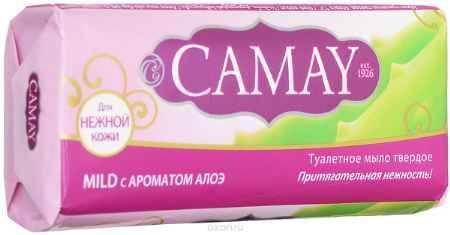 Купить Camay Твердое мыло Mild 90 гр