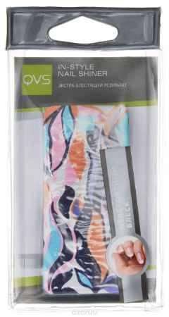 Купить QVS Полировка для ногтей, цвет: фиолетовый, розовый, голубой, оранжевый