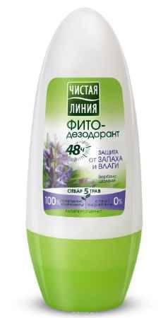 Купить Чистая Линия Антиперспирант ролл Защита от запаха и влаги 50 мл