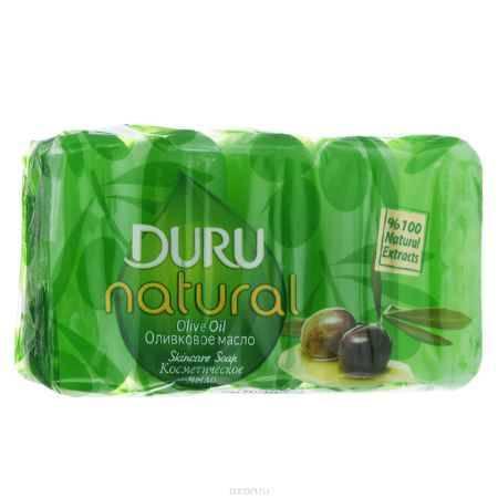 Купить Duru NATURAL Мыло Оливковое масло э/пак 5*70г