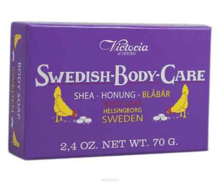 Купить Victoria Soap Shea-Honung-Blabar Мыло для тела с черникой, 70 г