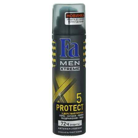 Купить FA MEN Xtreme Дезодорант-аэрозоль Protect 5 , 150 мл