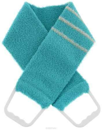 Купить Riffi Мочалка-пояс, массажная, жесткая, цвет: бирюзовый. 824