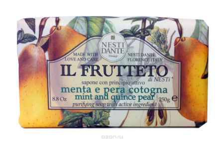 Купить Nesti Dante Мыло Mint & Quince pear Мята и айвовая груша 250 г