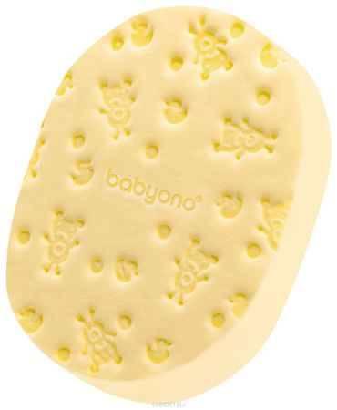 Купить BabyOno Губка для купания Soft цвет желтый