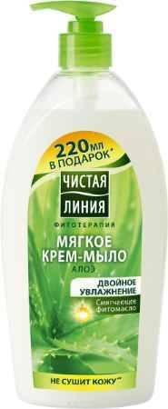 Купить Чистая Линия Фитотерапия Жидкое крем-мыло Двойное увлажнение 750 мл