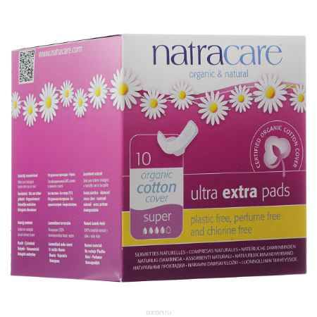 Купить Natracare Гигиенические ультратонкие прокладки с крылышками