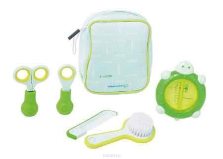 Купить Bebe Confort Детский гигиенический набор 6 предметов цвет голубой салатовый