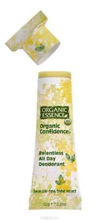 Купить Organic Essence Органический дезодорант, Лимон и Масло Чайного Дерева 62 г
