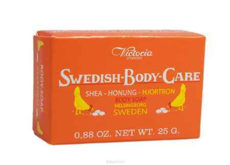 Купить Victoria Мыло для тела с морошкой Soap Shea-Honung-Hjortron, 25 г