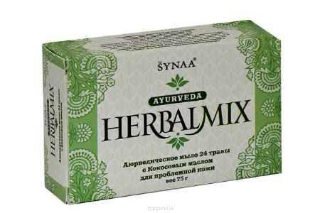Купить Herbalmix мыло твердое 24 травы с Кокосовым маслом, 75 г