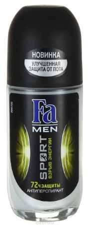 Купить FA MEN Дезодорант роликовый Sport Double Power, 50 мл