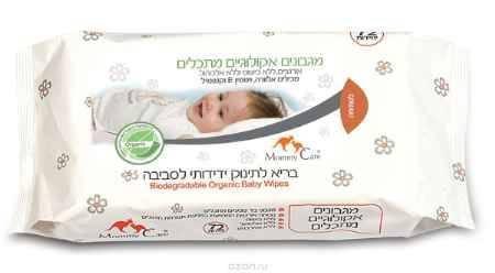 Купить Mommy Care Органические детские влажные салфетки 72 шт
