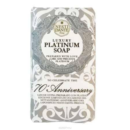Купить Nesti Dante Мыло Platinum Soap Юбилейное платиновое 250 г