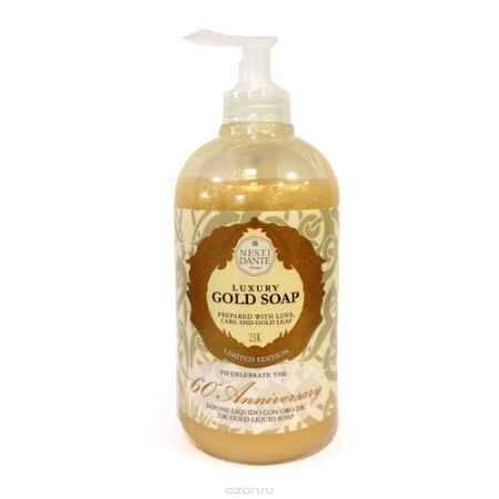 Купить Nesti Dante Жидкое мыло Anniversary Gold Soap-Юбилейное золотое 500 мл