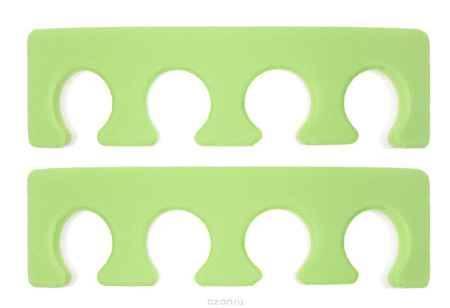 Купить OPI Разделитель для пальцев ног, 2 шт, цвет: салатовый
