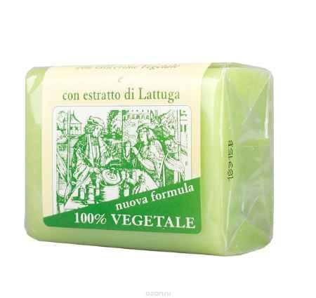 Купить Iteritalia Мыло натуральное глицериновое с экстрактом латука, 150 г