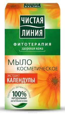 Купить Чистая Линия Фитотерапия Твердое мыло Экстракт календулы 80 гр