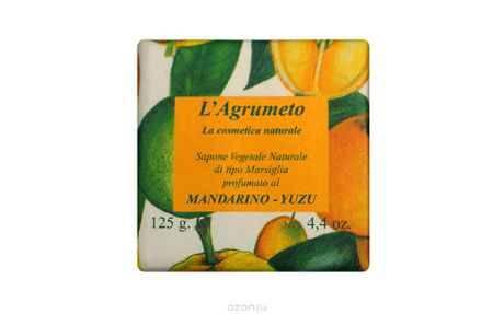 Купить Iteritalia Мыло высококачественное натуральное растительное с ароматом МАНДАРИН-ЮДЗУ, 125 г