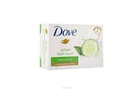 Купить Dove Крем-мыло Прикосновение свежести 135 гр